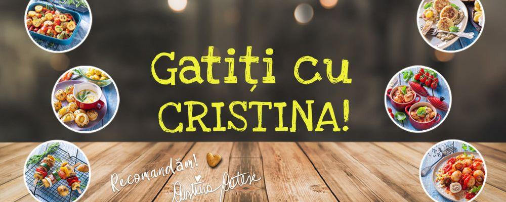 Gatiți cu Cristina si Aviko!